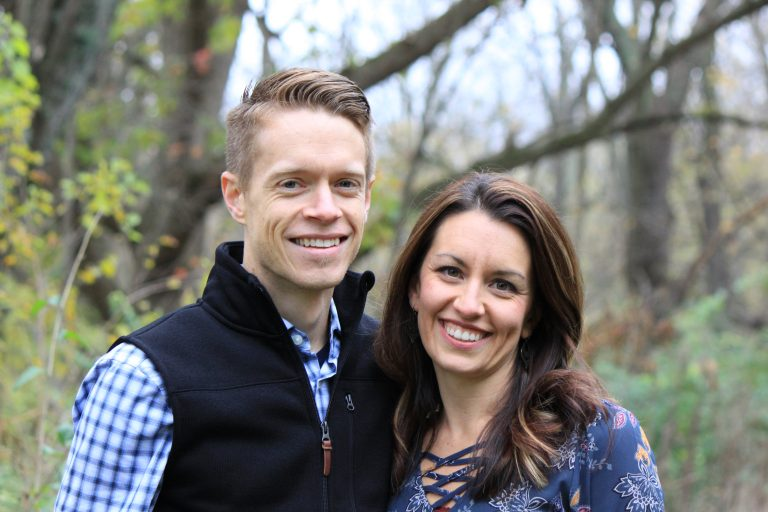 Julie and Sean Biddle, owners of Fit Simply Marketing.